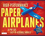 High-Performance Paper Airplanes Kit: 10 Pre-cut, Easy-to-Assemble Models [Origami Kit with Pop-Out Cards, Book, & Catapult]