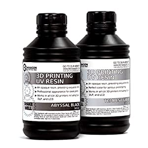 Mechanagon 3D Printing UV Resin for All SLA Printers - 500mL from Mechanagon