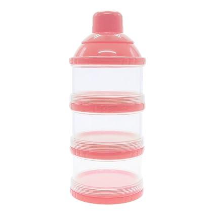GGG Botella de 3 Capas para Bebé Comida Caja,Infantil Alimentos Leche en Polvo Botella
