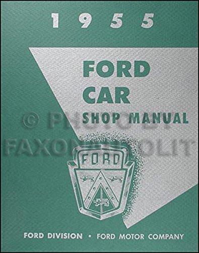 Cover Factory Trim (1955 Ford Car and Thunderbird Repair Shop Manual Reprint 8.5 x 11 inches)