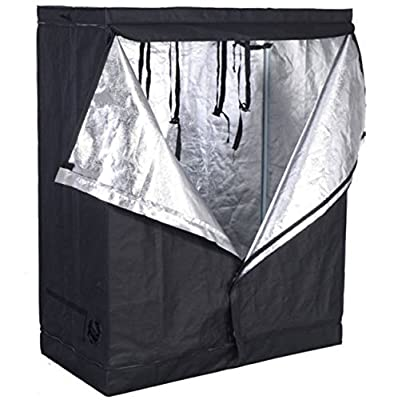 "48""x24""x60"" Grow Tent Non Toxic Reflective Mylar Room Box (48""x24""x60"") Indoor Plant Hut Hydroponic"