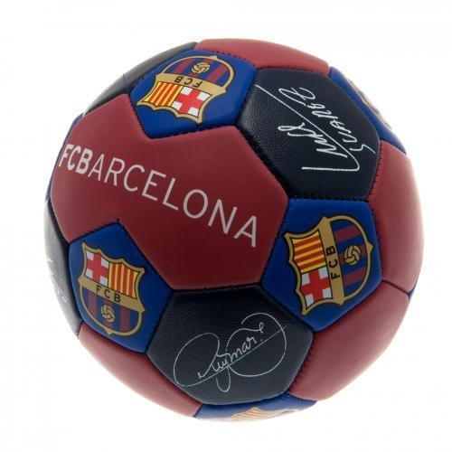 (Official FC Barcelona Nuskin Signature Football - Size 3)