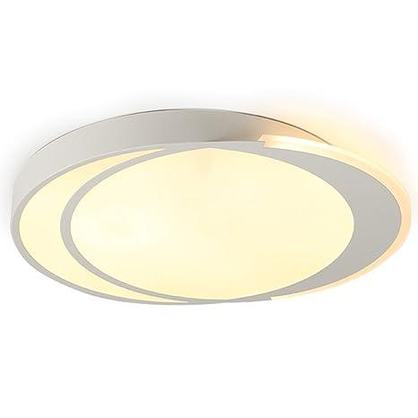 DFMD Lámparas de Techo de Hierro de Moda, Nordic LED, Blanco ...