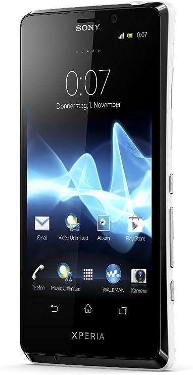 Sony Xperia T Smartphone 4 6 Zoll Weiß Elektronik