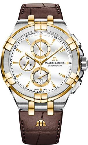 Maurice Lacroix AIKON AI1018-PVY11-132-1 Mens Chronograph Design Highlight