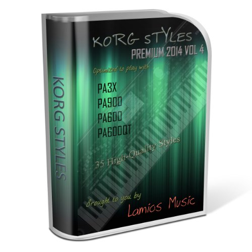 Korg Styles Premium 2014 Vol 4 for Korg PA300, PA600,, used for sale  Delivered anywhere in USA