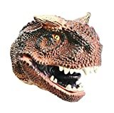 Dartphew Creative-Toy Hand Puppets Dinosaur Dinosaur Hand Puppets Role Play Realistic Head Gloves Soft Toy,Creative Toy for Kids Children Adult