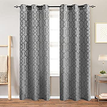 Amazon Com Privacy Light Filtering Curtains For Bedroom