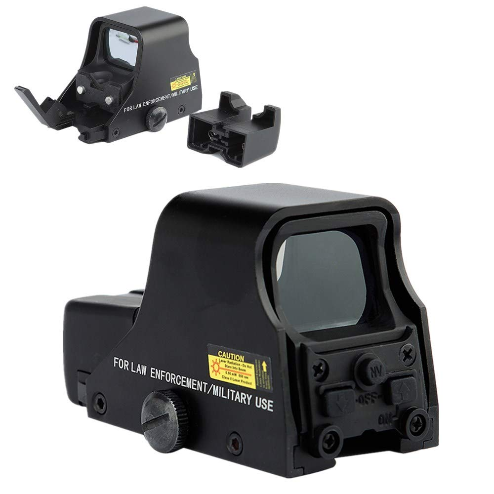 LIEYING Holographic 551 Metal 20mm Card Slot red and Green dots Convertible hd Sight by LIEYING