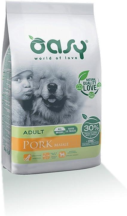 OASY Una proteÍna de cerdo seca para perros 12kg Comida seca ...