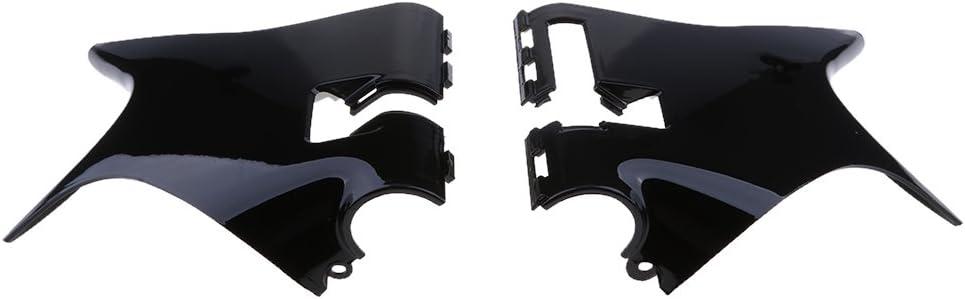 1 Pair Motorbike Black Frame Neck Covers For Honda Shadow NV VT400 600 93-07