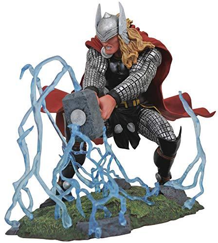 DIAMOND SELECT TOYS Marvel Gallery, Thor PVC Figure, Multicolor ()