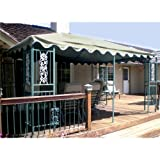 10 x 15 Single-Tier Gazebo Replacement Canopy - RipLock 350