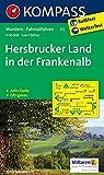 Hersbrucker Land in der Frankenalb: Wanderkarte mit Aktiv Guide und Radwegen. GPS-genau. 1:50000 (KOMPASS-Wanderkarten, Band 172)