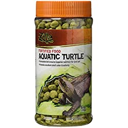 Zilla Reptile Food Aquatic Turtle Fortified, 6-Ounce