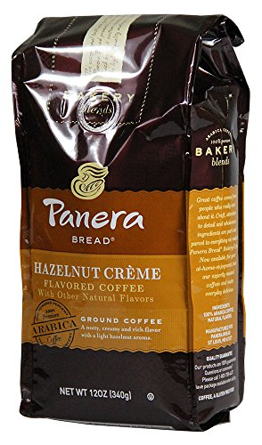 Panera Bread Coffee  Hazelnut Creme  12 Ounce