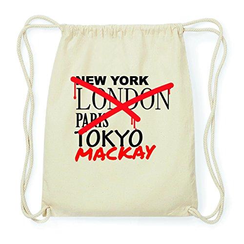 JOllify MACKAY Hipster Turnbeutel Tasche Rucksack aus Baumwolle - Farbe: natur Design: Grafitti BaQ1xw