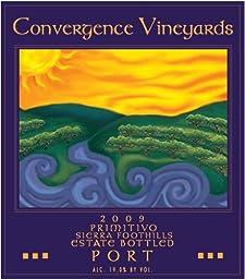 2009 Convergence Vineyards Estate Bottled Sierra Foothills Primitivo Port 750 mL