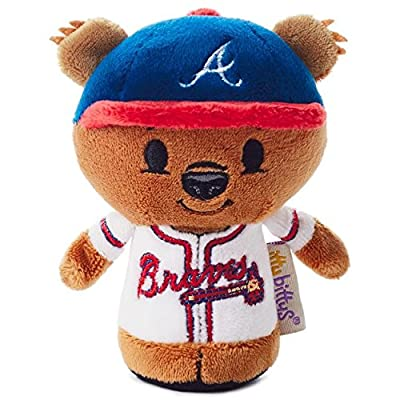 Hallmark Itty Bittys Atlanta Braves Special Edition Stuffed Animal: Toys & Games