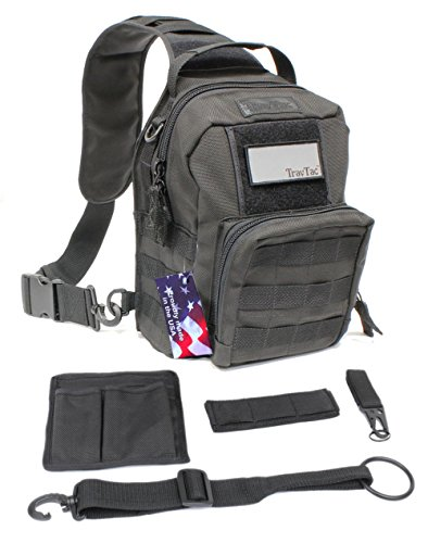 Ballistic Sling Bag- USA Tactical Series by TravTac