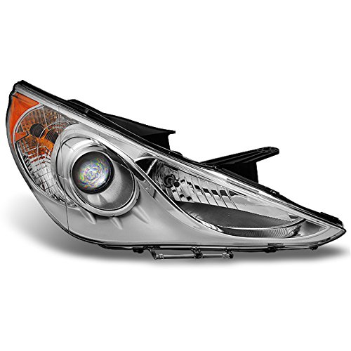 For Sonata 4Dr Sedan Clear Projector Headlight Head Lamp Front Lamp Passenger Right Side Replacement