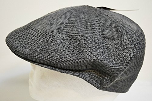 (Dark Gray Style Mesh Ivy Driver Cabbie Summer Cap Golf Hat Vented Breathable)