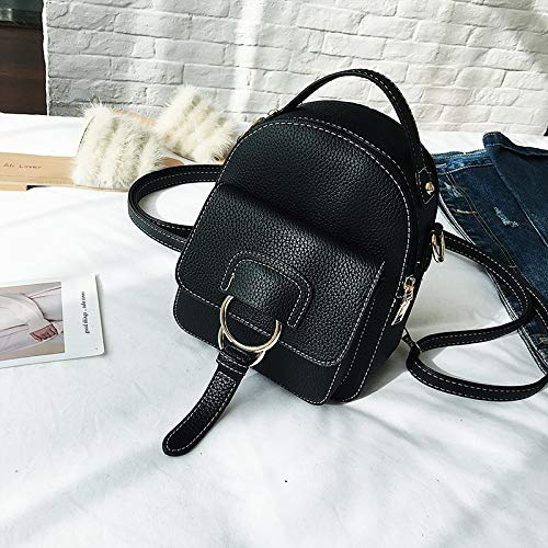 11c9ca6e47 Amazon.com  2018 Women Leather Backpack Children Mini Cute Back Pack  Backpacks for Teenage Girls Small Shoulder Bags  Kitchen   Dining