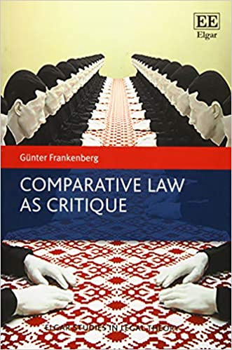 Book's Cover of Comparative Law As Critique (Anglais) Broché – 29 mars 2019