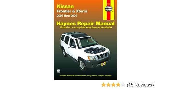 nissan frontier xterra 05 08 automotive repair manual john h rh amazon com Nissan Xterra SUV 2012 Nissan Xterra