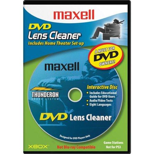 Maxell Dvd Laser Lens Cleaner Dvd-Lc W/Thunderon Brush System