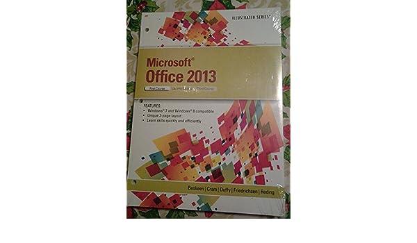 microsoft office 2013 david w beskeen 9781285922607 amazon com