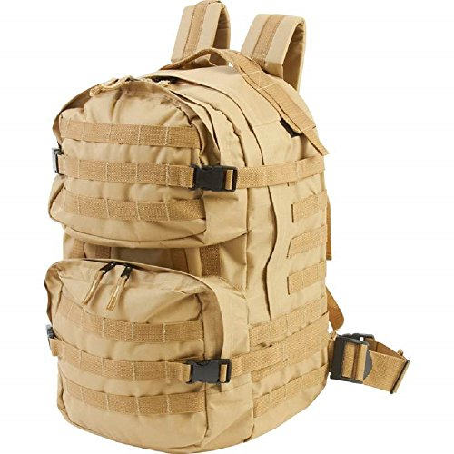Extreme Pak™ Water-Resistant, Heavy-Duty Army Backpack by BF001