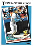 2018 Topps Throwback Thursday 1989 TURN BACK THE CLOCK DESIGN #29 MIKE PIAZZA NM-MT Dodgers