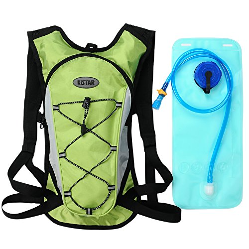 Hydration Pack Backpacks with 2 L Backpack Water Bladder for Hiking, Cycling, Running, Walking and Climbing . Fits Men and Women with Chest Sizes 27