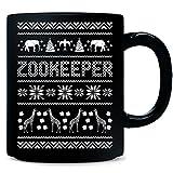Zookeeper Ugly Christmas Sweater Xmas Animals - Mug