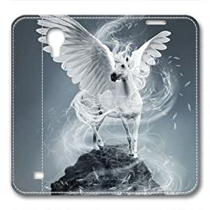 iCustomonline Leather Case for iPhone 6, White Horse Ultimate Protection Leather Case for iPhone 6