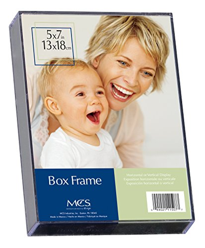 MCS 5x7 Inch Clear Box Frame