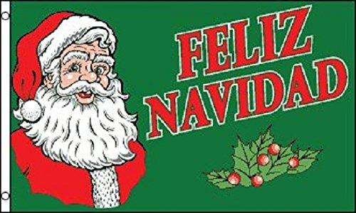 Flagmaster 3x5 Feliz Navidad Christmas Holiday Decoration Ba