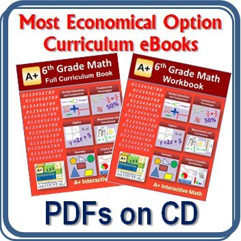 Workbook first grade worksheets pdf : Amazon.com: 6th, Sixth Grade Math Curriculum Bundle - Lessons ...