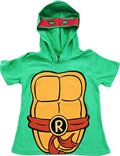 Teenage Mutant Ninja Turtles TMNT I Am Raph Costume Tee Hoodie (Boys 10/12) ()