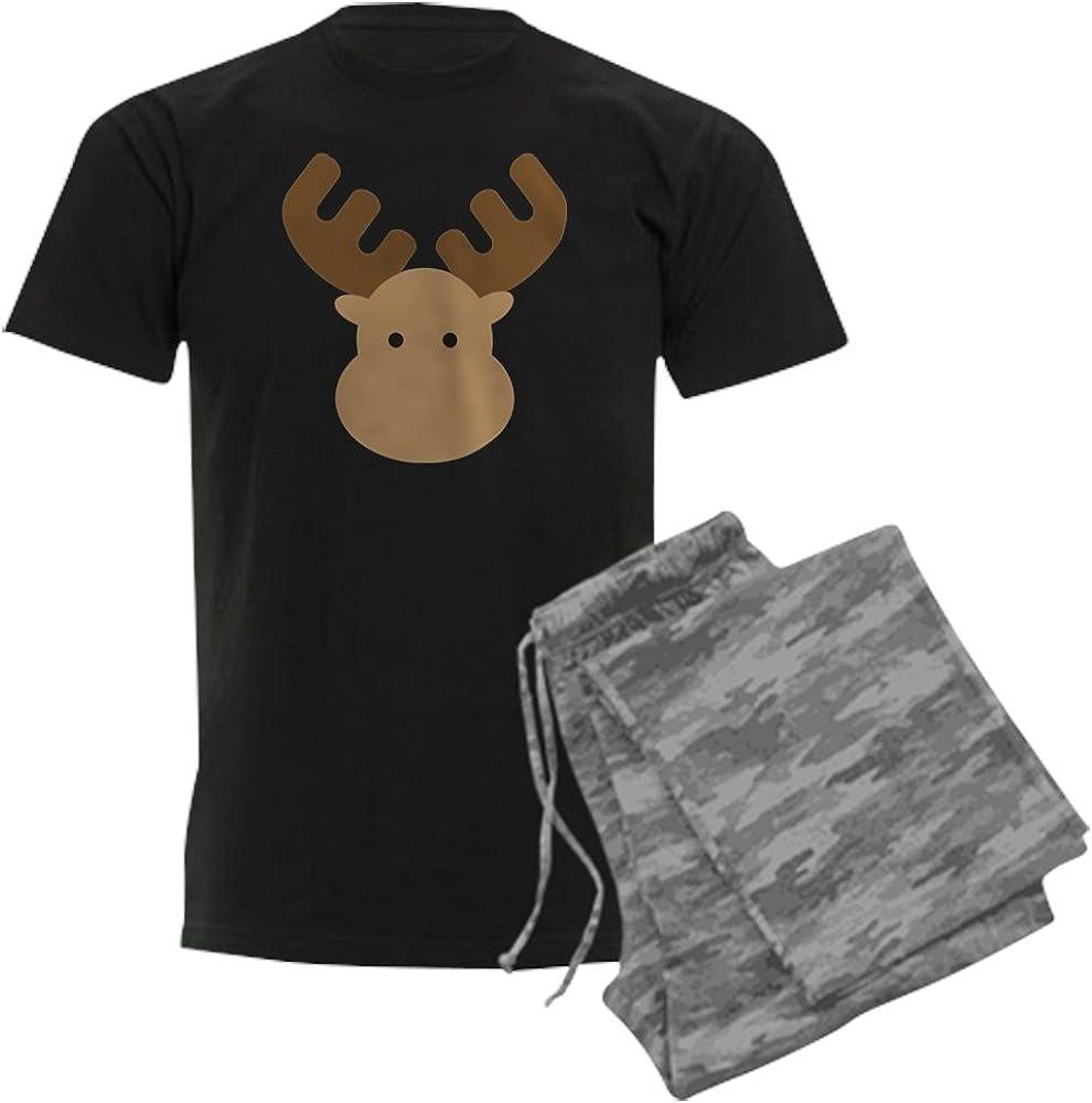 CafePress Moose Mens Dark Pajamas Pajama Set