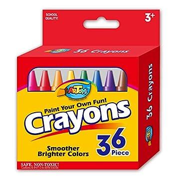 Graffiti Crayon - Pasteles de aceite lavable no tóxico 36 ...