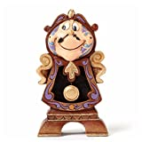 Disney Traditions by Jim Shore 'Beauty and the Beast' Cogsworth Stone Resin Figurine, 4.25'