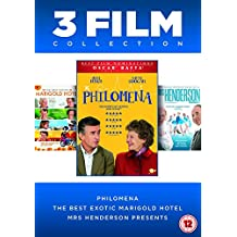 Philomena/The Best Exotic Marigold Hotel/Mrs Henderson Presents