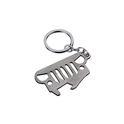 Syhyen Cool Keychain Bottle Opener With 304 Stainless Steel For