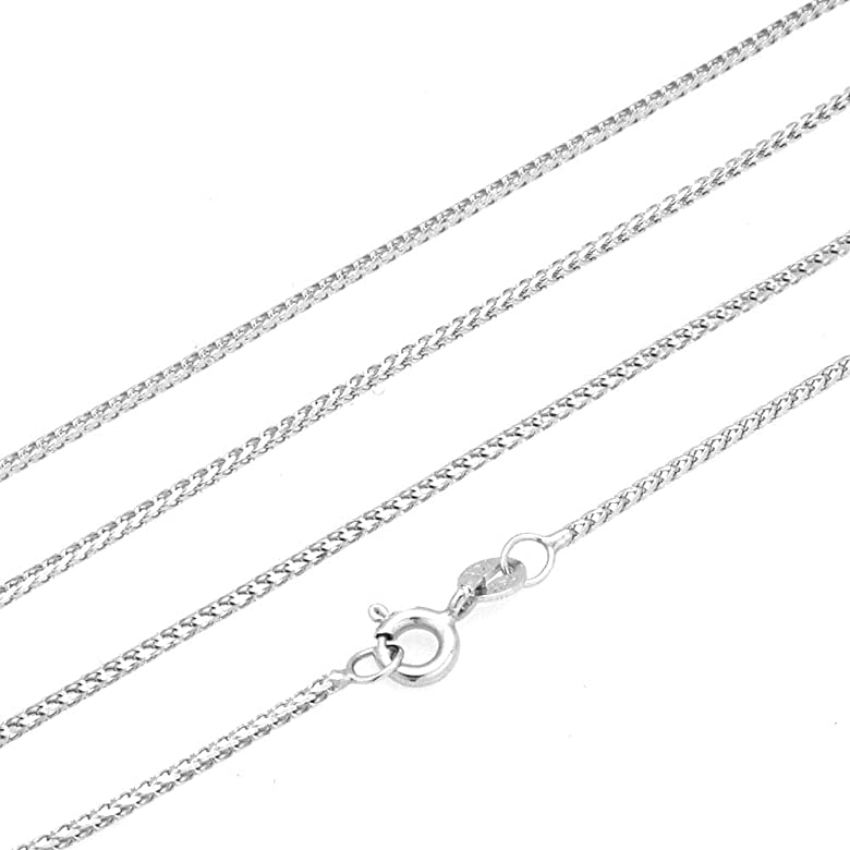 20 Solid 14k Yellow White /& Rose Gold 1.2mm Franco Chain 16 18 20 22 24 HEAVY White Gold
