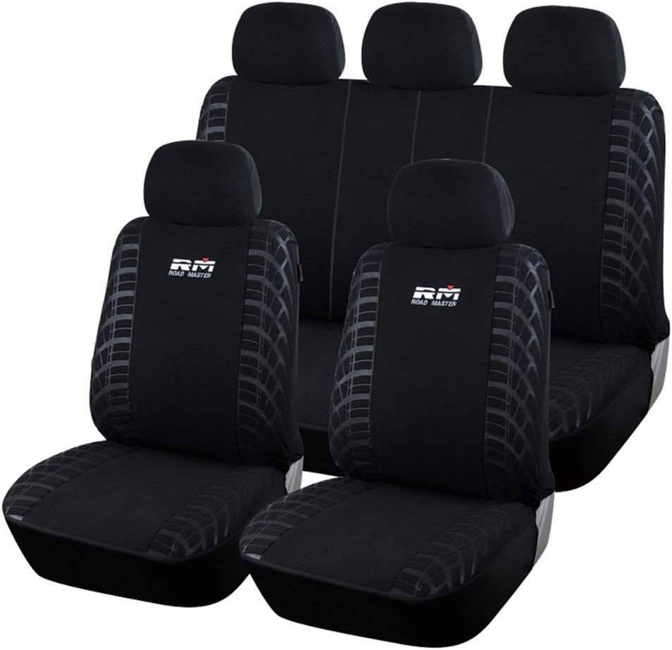 QXCOM Universal Auto Full Coverage Seats Covers Flax Fiber Car Seat Cover for alfa Romeo 156 Giulietta audia3 8l 8p 8v sportback a4 b5 b6 b7 Avant b8 b9 a6 c5 c6 c7 4f Avant