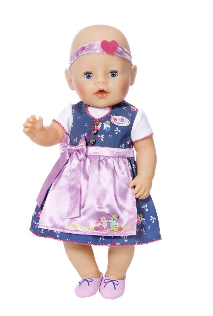 Zapf Creation 824504/Baby Born Dirndl