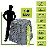 BMC 420 Litre Multi Composter Bin for Waste, Rubbish, Recycling & Eco Friendly
