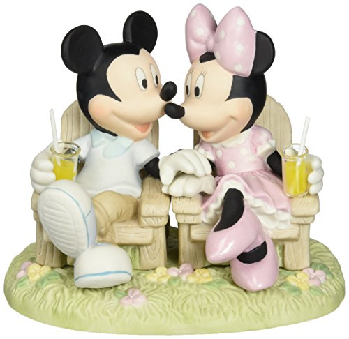 (Precious Moments, Disney Showcase Collection, Always Be By My Side, Bisque Porcelain Figurine, 133707)